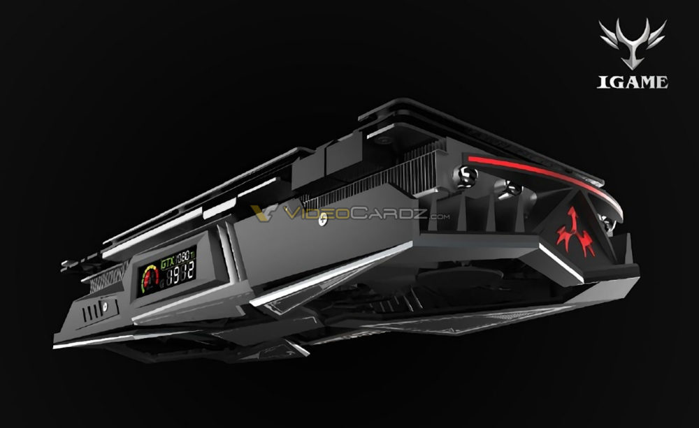COLORFUL iGame GTX 1080 Ti contará con panel LCD