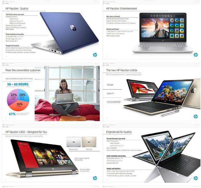 Nuevos HP Pavilion y Pavilion X360 Notebook