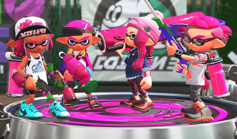 Splatoon 2 llega a Nintendo Switch