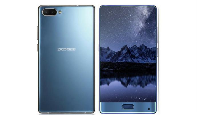 Doogee anuncia su nuevo smartphone Mix: elegante, potente, compacto y sin biseles