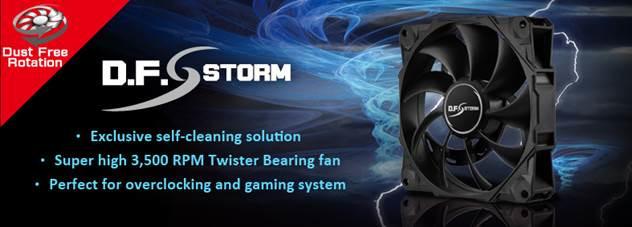 ENERMAX presenta D.F. STORM un ventilador que se limpia solo
