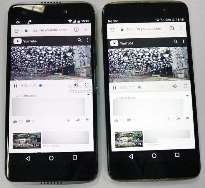 Avistado el smartphone Alcatel Idol 5S