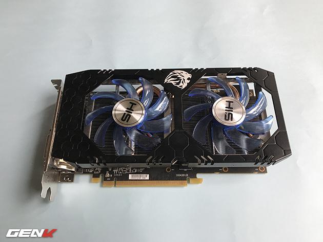 Imágenes y detalles de la HIS Radeon RX 570 IceQ X2
