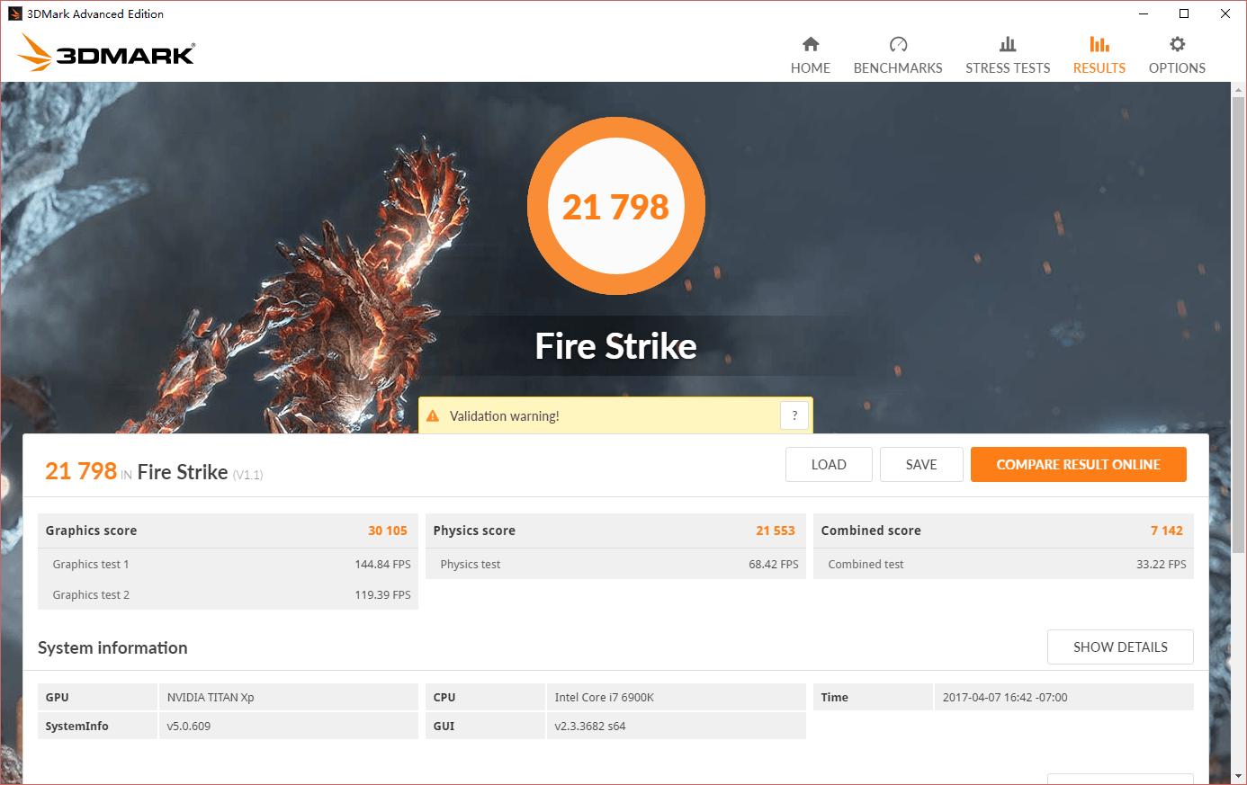 Titan XP Fire Strike
