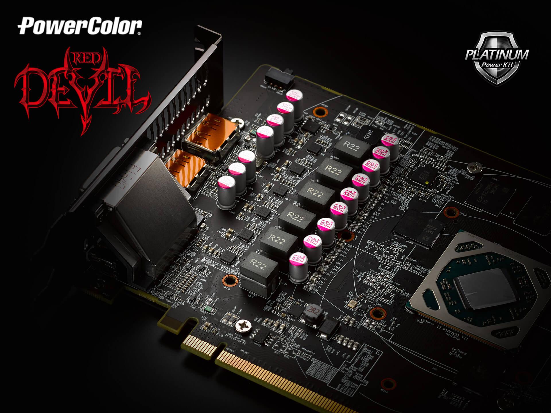 PowerColor muestra sus modelos Red Devil para las AMD RX 500