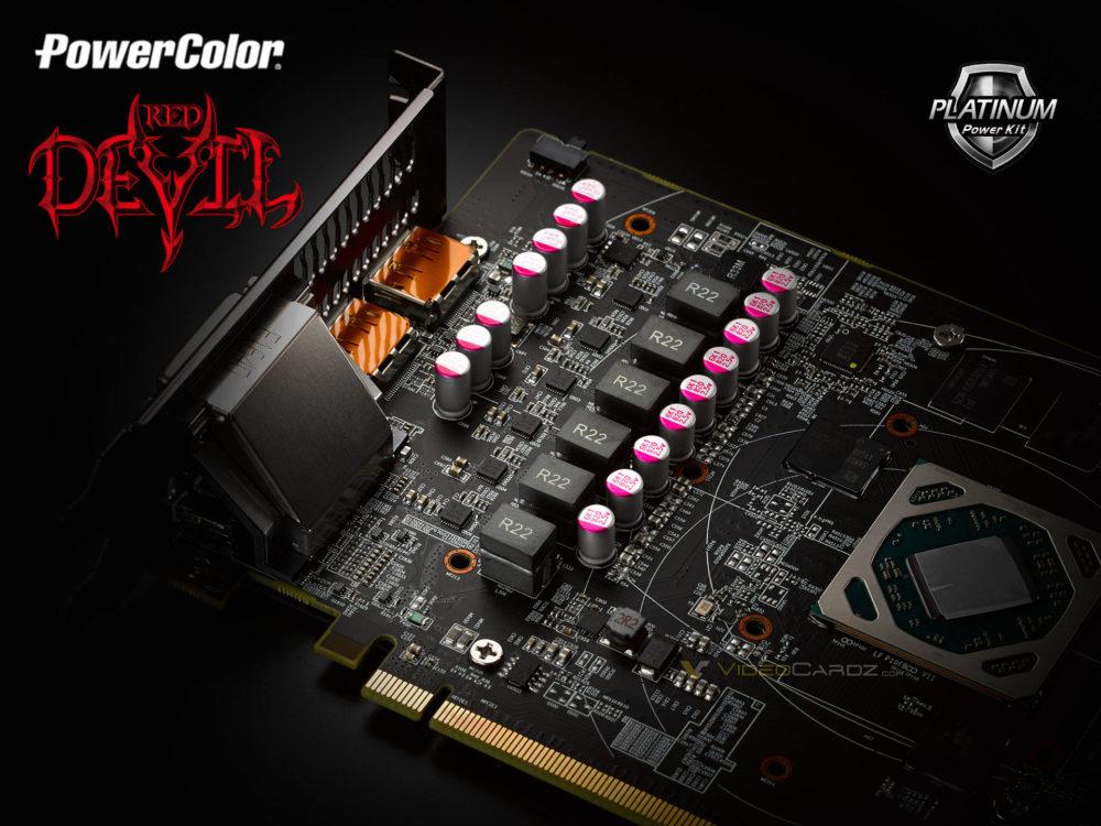 PowerColor lanza un nuevo teaser mostrando el VRM de su próxima Radeon RX 580 Red Devil