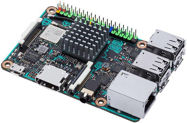 "ASUS  enseña su ""Tinker Board"", una Raspberry Pi 3"