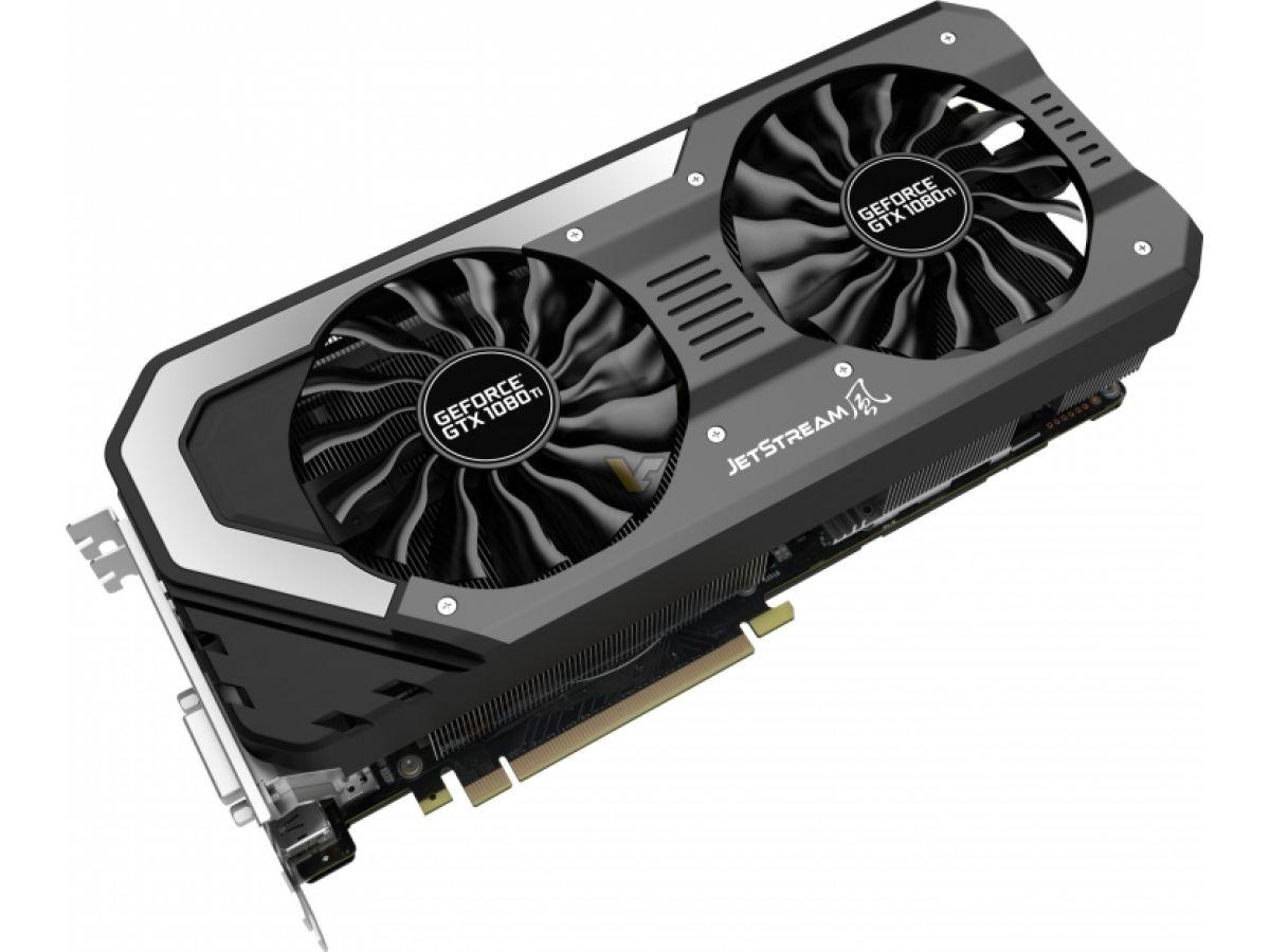 Palit presenta su nueva línea GeForce GTX 1080 Ti JetStream