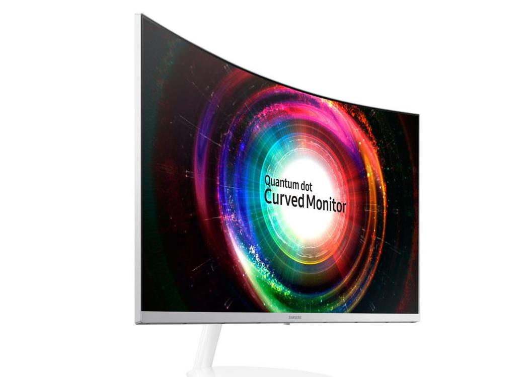 Samsung presenta su nuevos monitores curvo Quantum Dot