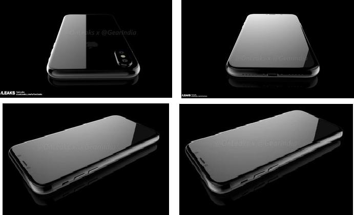 IPhone 8 visto en 360º y con más detalles