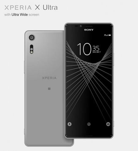 Sony Xperia X Ultra se ha visto filtrado en un par de renders