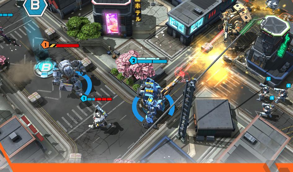Titanfall en smartphones como un RTS