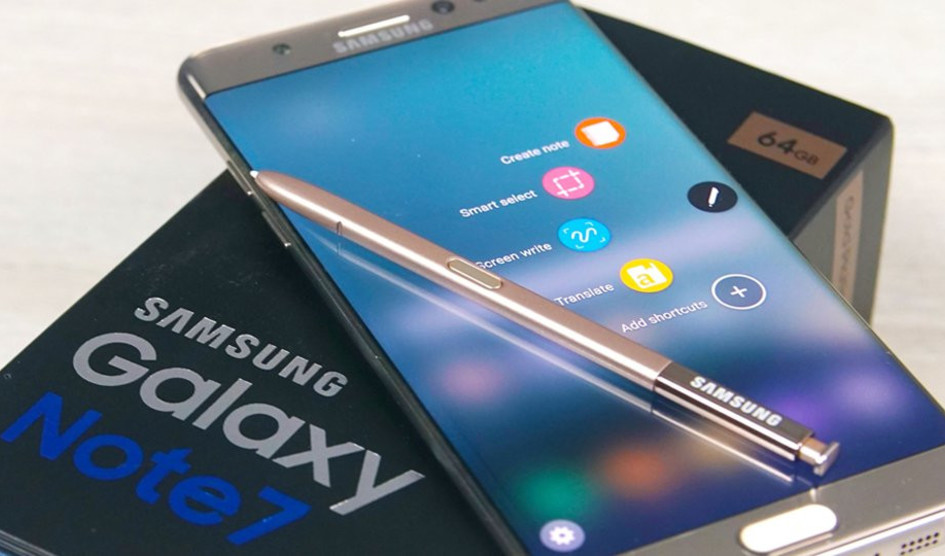 Galaxy Note 7 R reformado obtiene certificado FCC