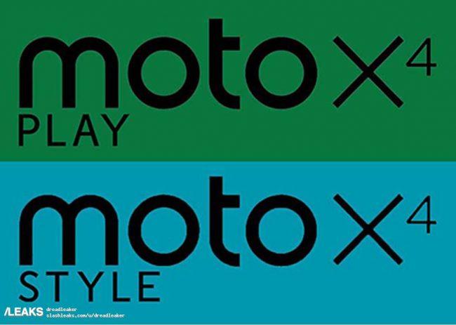 Existirán dos variantes del Moto X4, Play y Style