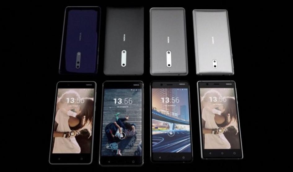 Los nuevos smartphones Nokia se filtran en un vídeo oficial de HMD Global