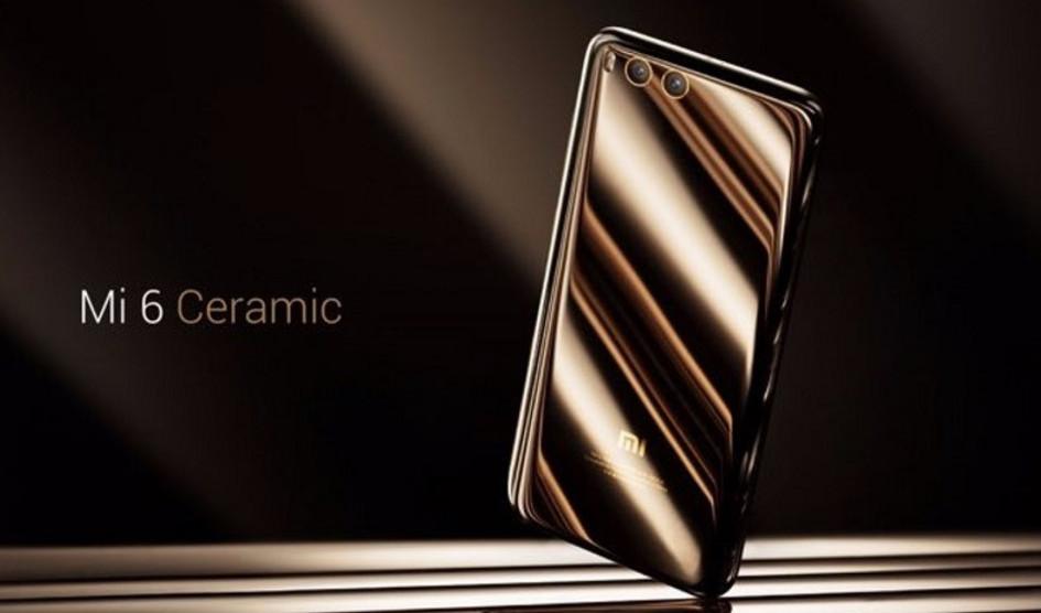 Xiaomi Mi6 Ceramic Edition hoy a la venta