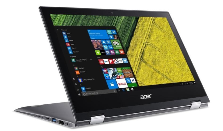 Acer Spin 1 anunciado oficialmente, un interesante y económico 2 en 1