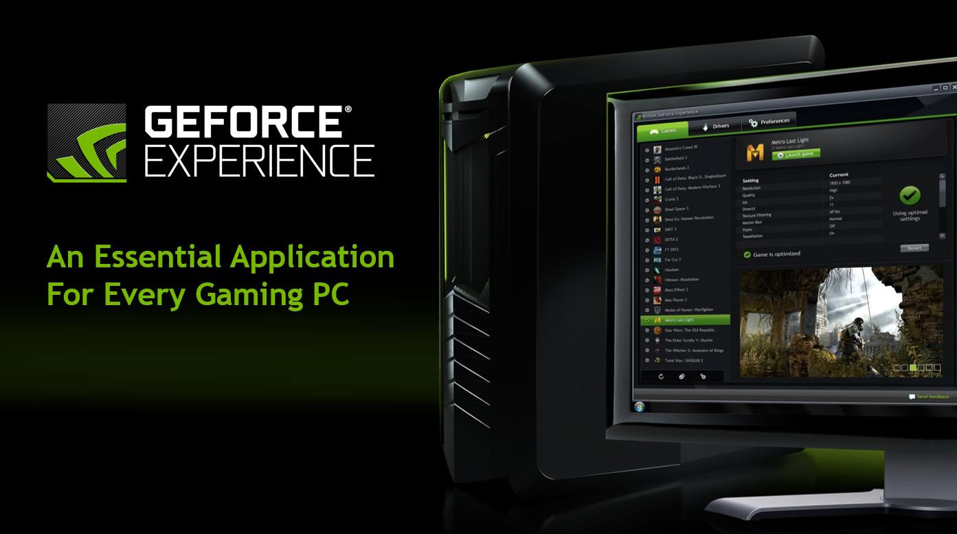 Nvidia lanza GeForce Experiencie 3.6, con soporte Vulkan, OpenGL