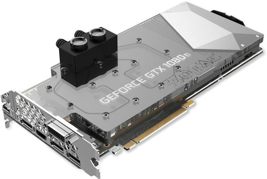 ZOTAC anuncia su flamante GeForce GTX 1080 Ti ArcticStorm con bloque de agua integrado