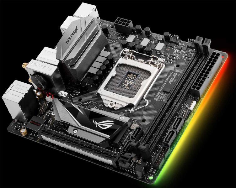 ASUS presenta sus nuevas placas ROG STRIX MINI ITX : H270I y B250I