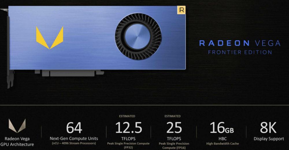 AMD Radeon Vega ya es oficial, contará con 4096 Stream Processors