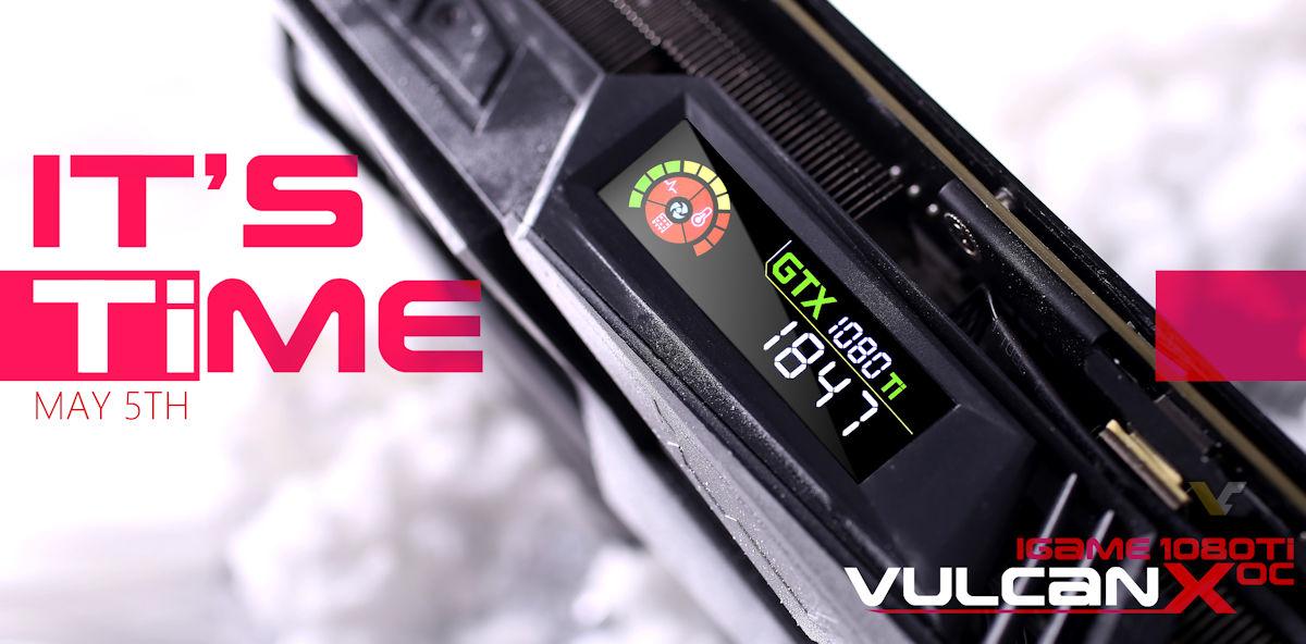 COLORFUL presenta iGame GTX 1080 Ti Vulcan X OC