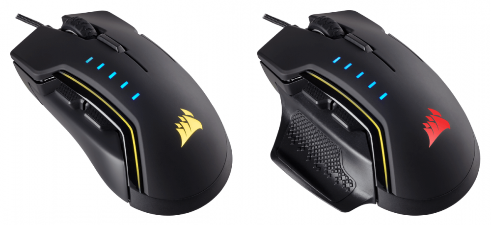 NP: Presentamos el ratón para juegos CORSAIR GLAIVE RGB: el rendimiento definitivo en la palma de tu mano