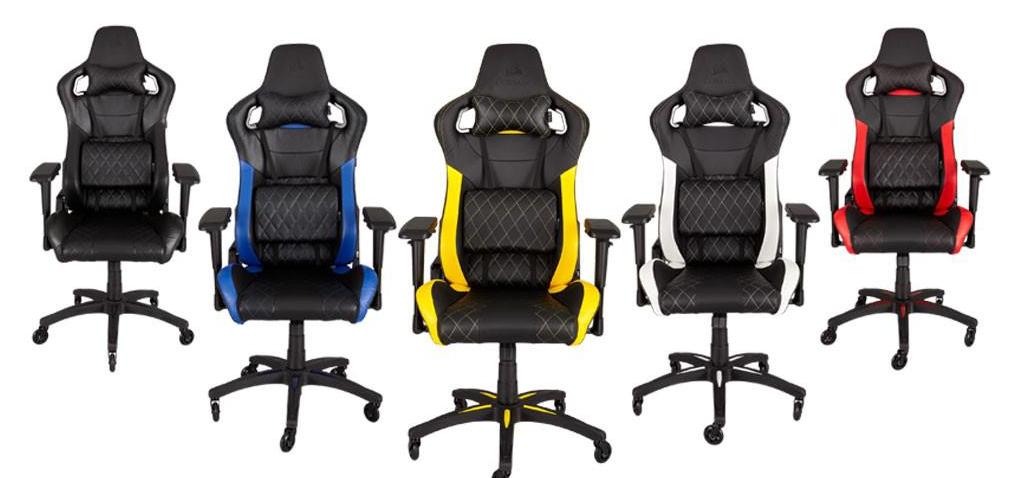 Corsair presenta su nueva silla gamer T1 RACE
