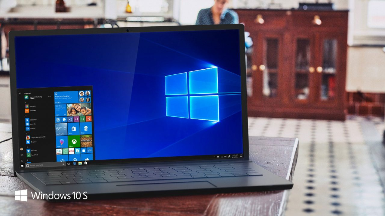 Surface Book y Surface Pro estarán disponibles con Windows 10 S