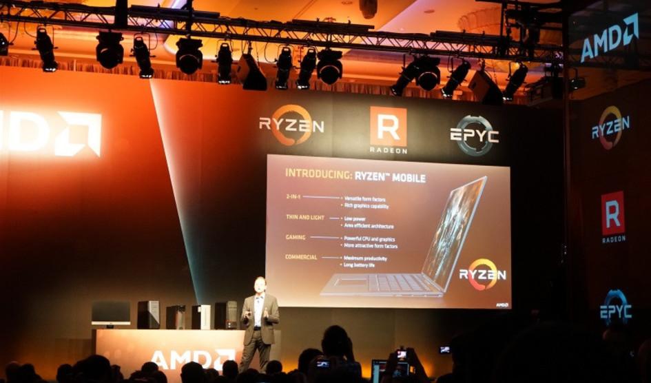 Computex2017: Más portátiles AMD Ryzen llegarán este año
