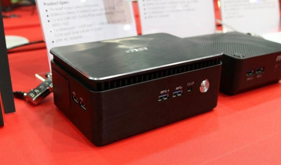 Computex2017: MSI muestra su flamante mini PC Cubi 3