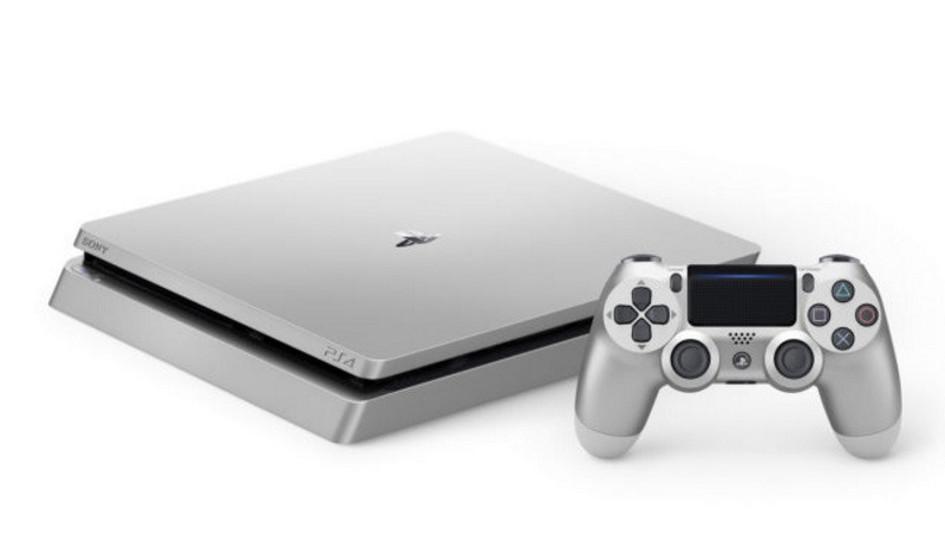 Sony también anuncia el lanzamiento de PlayStation 4 Slim Silver