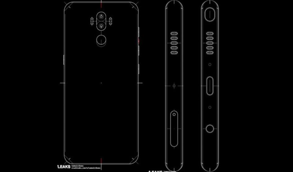 Samsung Galaxy Note 8 ve filtrado su diseño y especificaciones