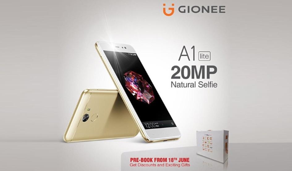 Gionee A1 Lite anunciado oficialmente