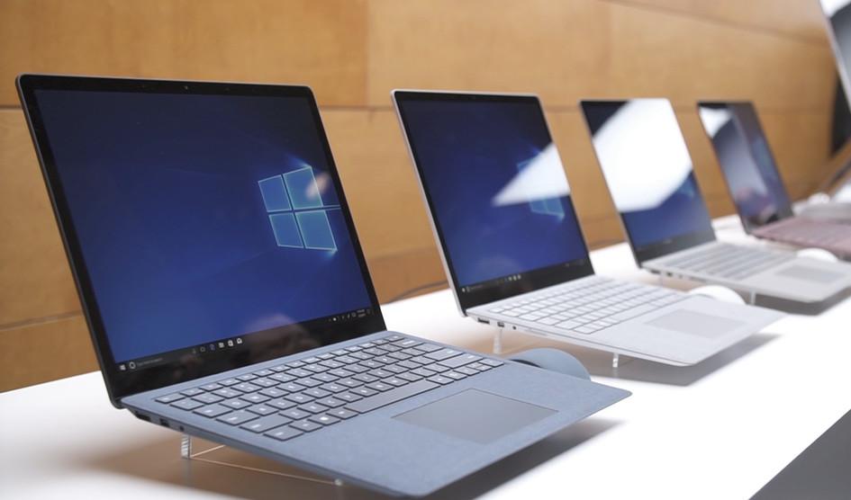 Microsoft anuncia la disponibilidad global de sus Surface Laptop y Surface Pro
