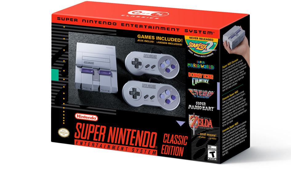 Super SNES Classic estará disponible para este mismo año