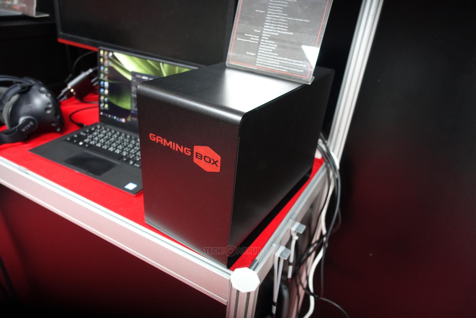 Computex2017: PowerColor muestra Gaming Box, su nueva e imponente caja para GPUs externas