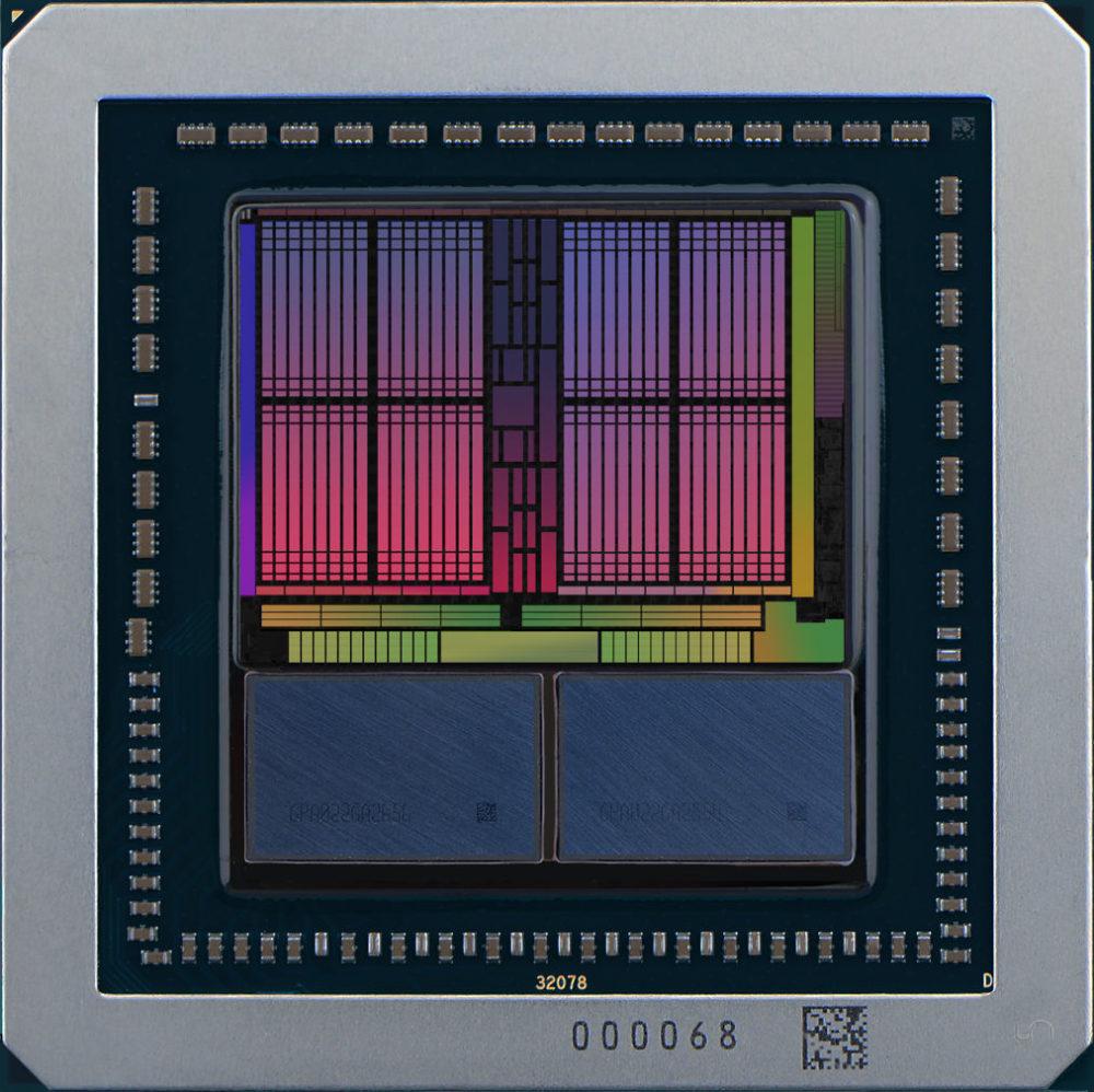 Die de la flamante AMD Vega fotografiado