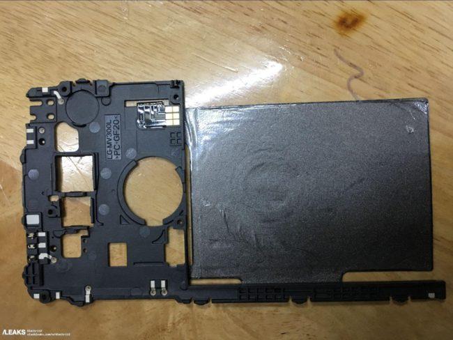 Una imagen del LG V30 confirma el módulo de carga Wi-Fi