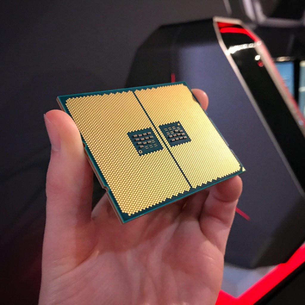Fotografiada la zona de conexión de AMD Threadripper