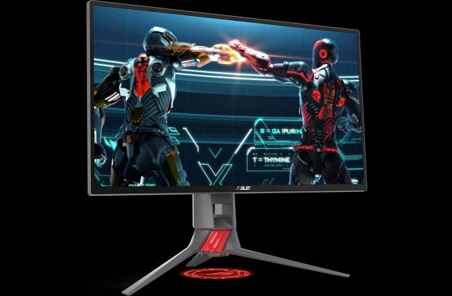 ASUS anuncia tres monitores Strix con FreeSync, alta tasa de refresco e iluminación LED RGB