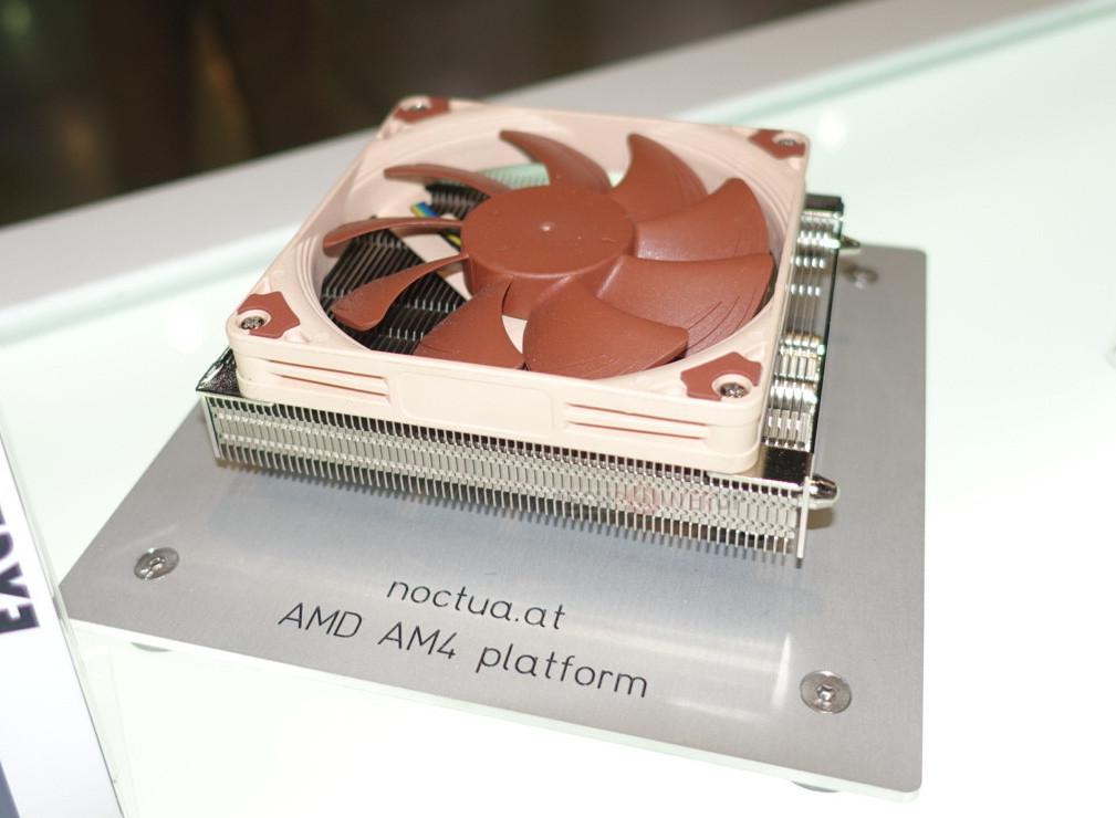 Computex2017: Noctua presenta una disipador súper compacto para AM4