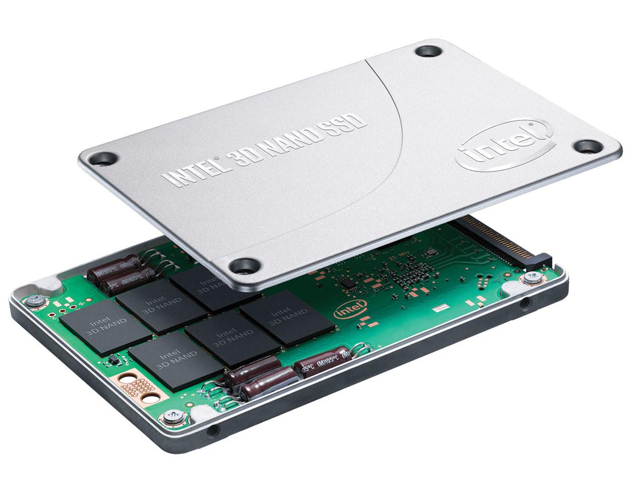 Intel SSD DC P4501, SSDs basados en la tecnología 3D NAND Flash