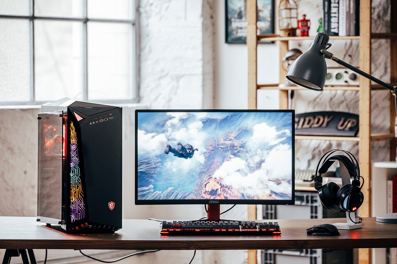 MSI Infinite A, nuevo PC gamer de escritorio
