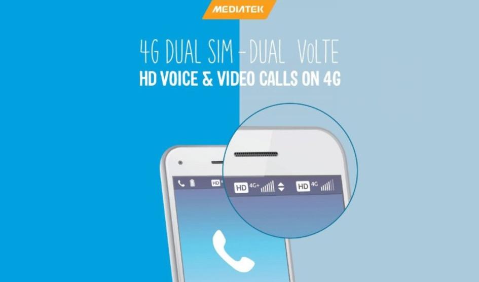 MediaTek también anuncia la solución Dual 4G VoLTE
