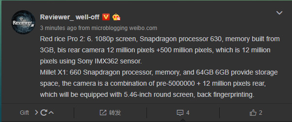 Un día después de que supiéramos las especificaciones del esperado Redmi Pro 2, ahora sabemos que Xiaomi está preparando otro smartphone de gama media, el Mi X1.