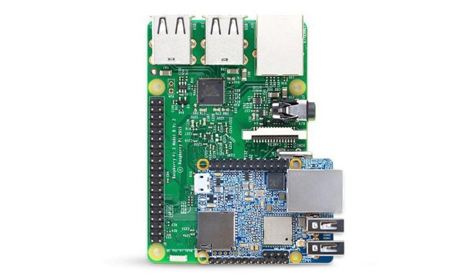 Nano Pi Neo Plus 2 el competidor de Raspberry