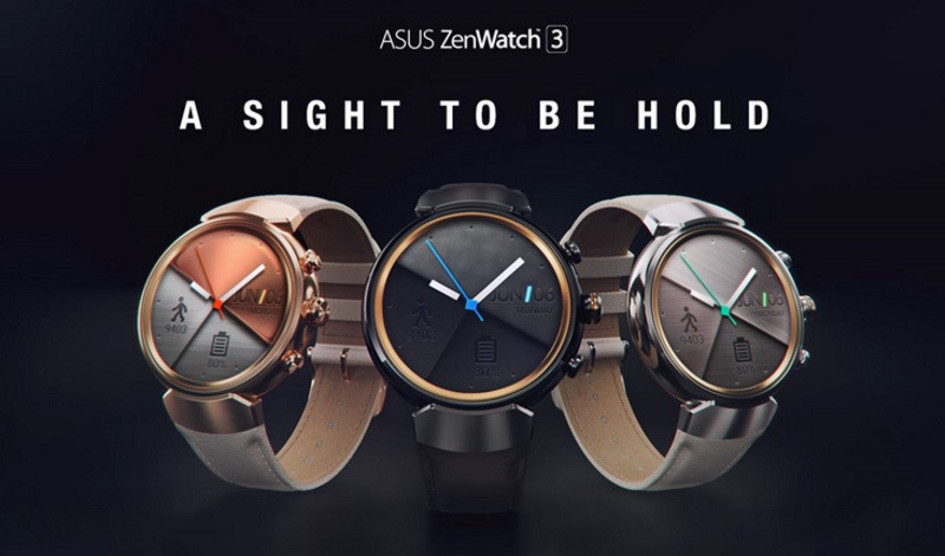 ASUS confirma Android Wear 2.0 para ZenWatch 3