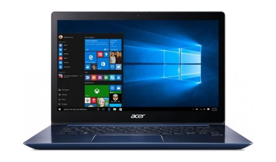 Acer Swift 3 podría ser el primer portátil con procesadores Intel 8th Gen