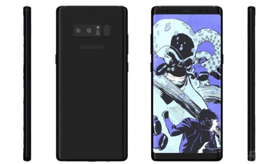 Samsung Galaxy Note 8 y su cámara óptica de 3X zoom